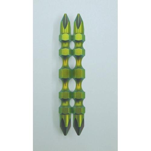 【PB】NC62-190/1-65 奈米塗層 雙頭起子頭 #1X65(2個) - 「Webike-摩托百貨」