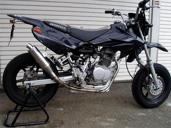 【Racing Shop Yokota】RSY ST/SP100 全段排氣管:XR100 MOTARD (HD13) - 「Webike-摩托百貨」