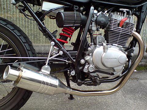 【Racing Shop Yokota】RSY Beauty 短不銹鋼全段排氣管・含觸媒轉換器:CB223S (MC40)用 - 「Webike-摩托百貨」