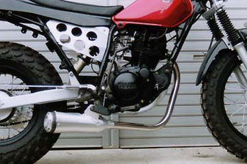 【Racing Shop Yokota】RSY Super Trapp 4吋鋁合金全段排氣管:TW200E(DG07J)用 - 「Webike-摩托百貨」