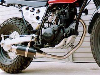 【Racing Shop Yokota】RSY Beauty 短黑色碳纖維全段排氣管:VANVAN 200 (NH41A)用 - 「Webike-摩托百貨」