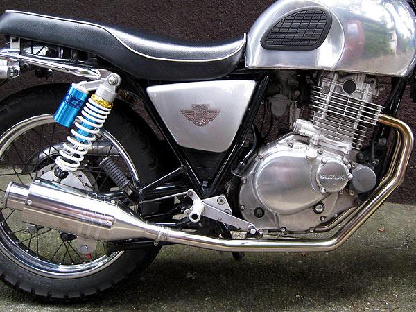 【Racing Shop Yokota】RSY Beauty 短不銹鋼全段排氣管:VOLTY (NJ47A)用 - 「Webike-摩托百貨」