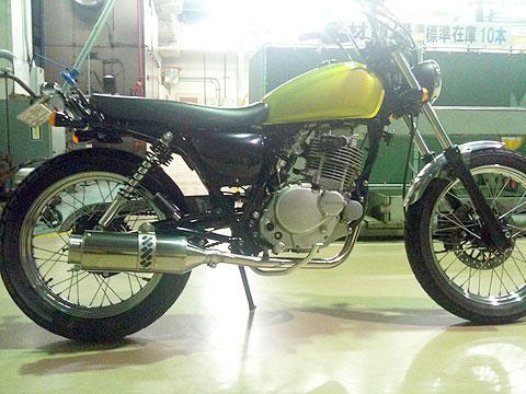 【Racing Shop Yokota】RSY Beauty L 不銹鋼全段排氣管:GRASS TRACKER BIGBOY (NJ4BA)用 - 「Webike-摩托百貨」