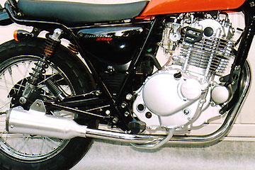 【Racing Shop Yokota】RSY Super Trapp 4吋鋁合金全段排氣管:ST250(NJ4AA)用 - 「Webike-摩托百貨」