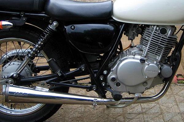 【Racing Shop Yokota】RSY Super Trapp Megaphone 4吋全段排氣管:ST250 (NJ4AA)用 - 「Webike-摩托百貨」