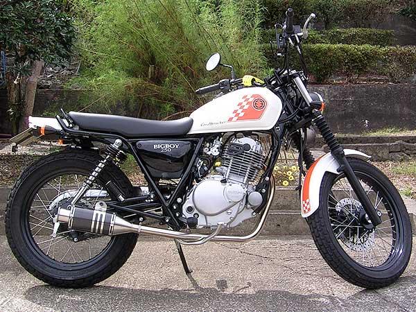 【Racing Shop Yokota】RSY Beauty 短黑色碳纖維全段排氣管:ST250 (NJ4CA)用 - 「Webike-摩托百貨」
