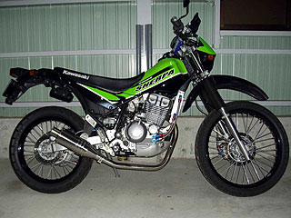 【Racing Shop Yokota】RSY Beauty 短不銹鋼全段排氣管:SUPER SHERPA (KL250G)用 - 「Webike-摩托百貨」
