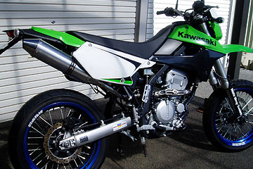 【Racing Shop Yokota】RSY Delta Bomb 全段排氣管:KLX250 (LX250S) 用 - 「Webike-摩托百貨」