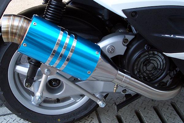 【Racing Shop Yokota】 RSY Spider 全段排氣管:CREA SCOOPY (AF55)用 - 「Webike-摩托百貨」