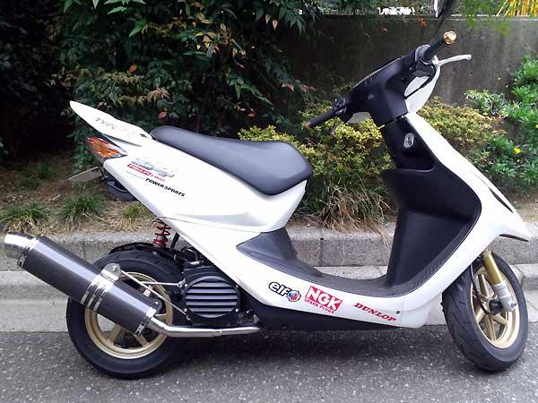 【Racing Shop Yokota】RSY Little Bomb 黑色碳纖維全段排氣管:CREA SCOOPY (AF55)用 - 「Webike-摩托百貨」