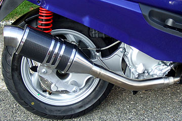【Racing Shop Yokota】RSY Spider 黑色碳纖維全段排氣管:Zoomer (AF58・化油器)用 - 「Webike-摩托百貨」