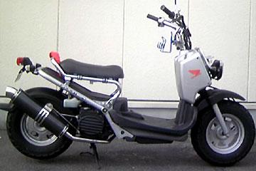 【Racing Shop Yokota】RSY Little Bomb 黑色碳纖維全段排氣管:Zoomer (AF58・噴射供油)用 - 「Webike-摩托百貨」