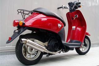 【Racing Shop Yokota】RSY Little Bomb 不銹鋼全段排氣管:TODAY (AF61・化油器)用 - 「Webike-摩托百貨」