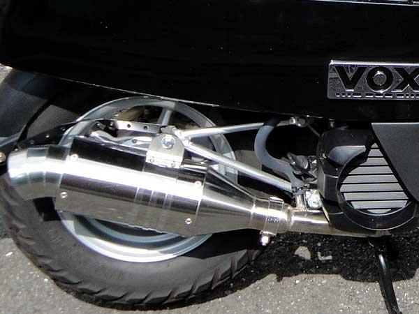 【Racing Shop Yokota】RSY Spider 不銹鋼全段排氣管:VOX・Box(SA31J)用 - 「Webike-摩托百貨」