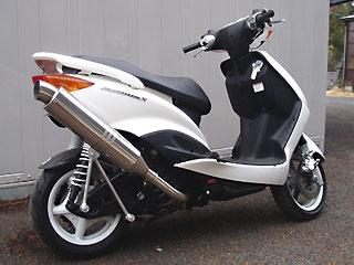 【Racing Shop Yokota】RSY Excellent Racing 不銹鋼全段排氣管:Cygnus X(SE12J)用 - 「Webike-摩托百貨」