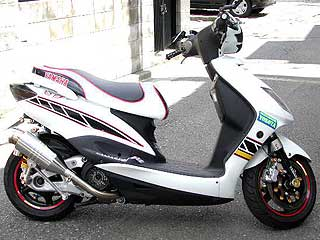 【Racing Shop Yokota】RSY Spider  Racing 不銹鋼全段排氣管:Cygnus X(SE12J)用 - 「Webike-摩托百貨」
