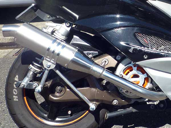 【Racing Shop Yokota】RSY Special Racing 鈦合金全段排氣管:Cygnus X(SE12J)用 - 「Webike-摩托百貨」