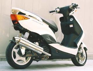 【Racing Shop Yokota】RSY Little Bomb Racing 不銹鋼全段排氣管100:Cygnus X (SE12J)用 - 「Webike-摩托百貨」
