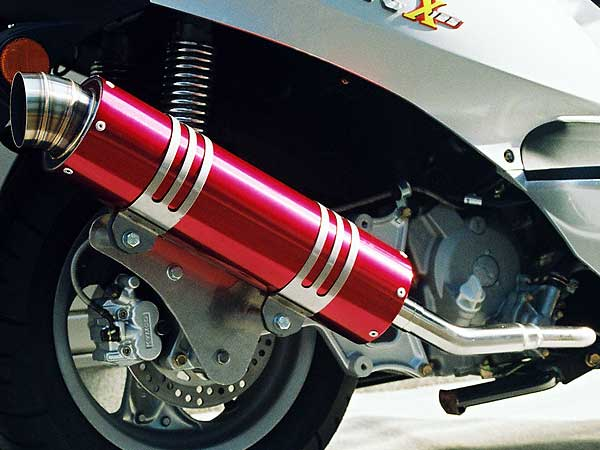 【Racing Shop Yokota】RSY Wild Bomb 全段排氣管:Cygnus X (SE12J)用 - 「Webike-摩托百貨」