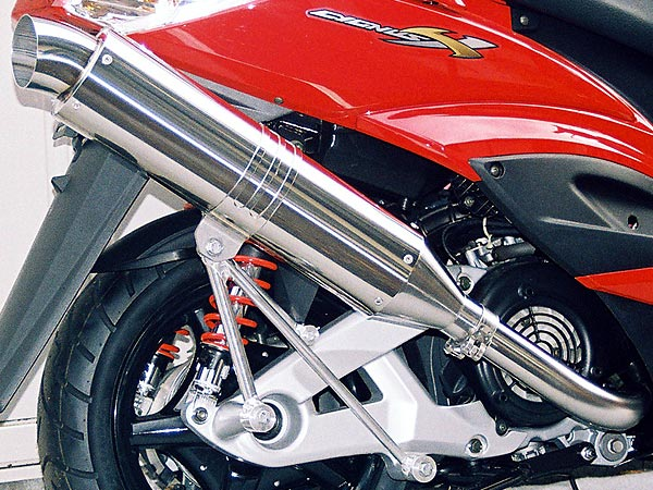 【Racing Shop Yokota】RSY Excellent 不銹鋼全段排氣管:Cygnus X(SE44J)用  - 「Webike-摩托百貨」