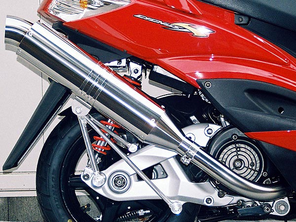 【Racing Shop Yokota】RSY Excellent 不銹鋼全段排氣管:Cygnus X(SE44J)用  - 「Webike-摩托百貨」