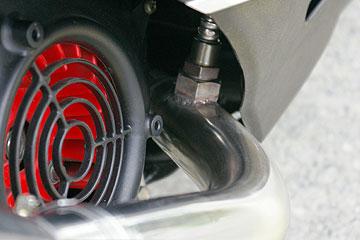 【Racing Shop Yokota】RSY Spider 黑色碳纖維全段排氣管:Cygnus X FI (台灣5期)用 - 「Webike-摩托百貨」