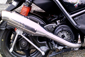【Racing Shop Yokota】RSY Spider 不銹鋼全段排氣管:BW'S125用 - 「Webike-摩托百貨」