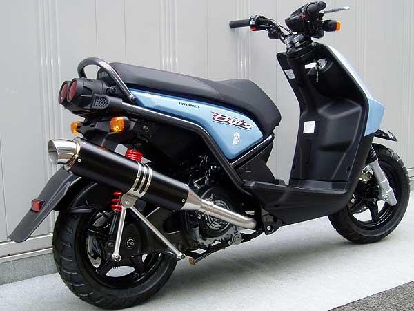 【Racing Shop Yokota】RSY Wild Excellent 黑色陽極處理全段排氣管:BW'S125用 - 「Webike-摩托百貨」