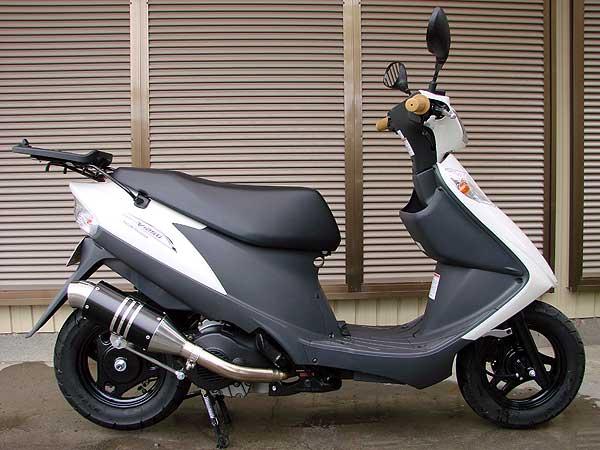 【Racing Shop Yokota】 RSY Spider 全段排氣管:Address V125 (CF46A)用 - 「Webike-摩托百貨」