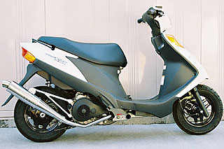 【Racing Shop Yokota】RSY Slim Bomb 不銹鋼全段排氣管:Address V125 (CF46A)用 - 「Webike-摩托百貨」