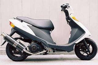 【Racing Shop Yokota】RSY Big Horn 黑色碳纖維全段排氣管:Address V125 (CF46A)用 - 「Webike-摩托百貨」