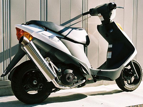 【Racing Shop Yokota】RSY Little Bomb 不銹鋼全段排氣管・Up:Address V125 (CF46A)用 - 「Webike-摩托百貨」
