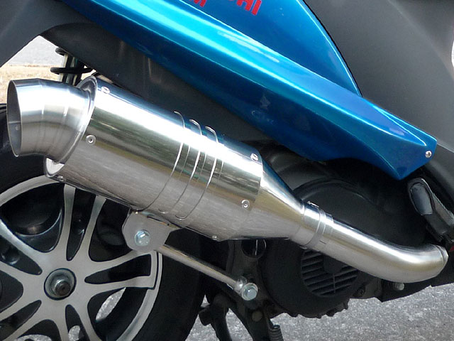 【Racing Shop Yokota】RSY Spider 不銹鋼全段排氣管:Address V125 (CF4EA)用 - 「Webike-摩托百貨」