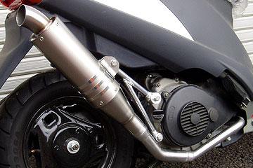 【Racing Shop Yokota】RSY Special 鈦合金全段排氣管:Address V125 (CF4EA)用 - 「Webike-摩托百貨」