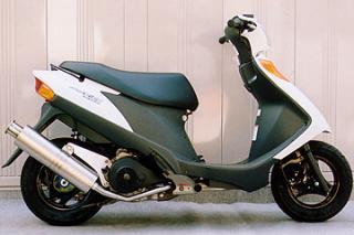 【Racing Shop Yokota】RSY Big Horn 不銹鋼全段排氣管:Address V125 (CF4EA)用 - 「Webike-摩托百貨」
