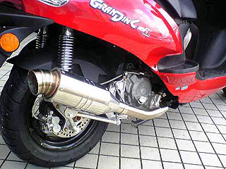 【Racing Shop Yokota】RSY Spider 不銹鋼全段排氣管:Kymco Grand Dink 125用 - 「Webike-摩托百貨」