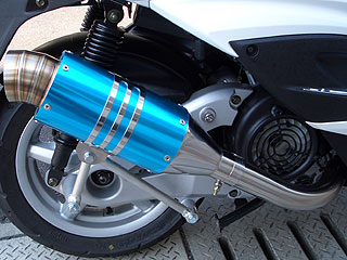 【Racing Shop Yokota】 RSY Spider 全段排氣管:Kymco Grand Dink 125用 - 「Webike-摩托百貨」