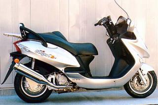 【Racing Shop Yokota】RSY Beauty L 不銹鋼全段排氣管:Kymco Grand Dink 125用 - 「Webike-摩托百貨」