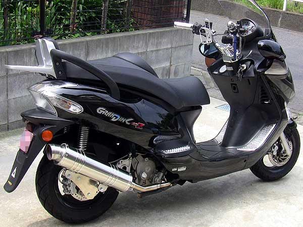 【Racing Shop Yokota】RSY Little Bomb 不銹鋼全段排氣管:Kymco Grand Dink 125用 - 「Webike-摩托百貨」