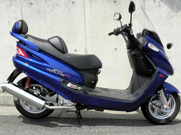 【Racing Shop Yokota】RSY Little Bomb 不銹鋼全段排氣管:SYM RV125 JP用 - 「Webike-摩托百貨」