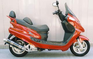 【Racing Shop Yokota】RSY Little Bomb 黑色碳纖維全段排氣管:SYM RV125 JP用 - 「Webike-摩托百貨」