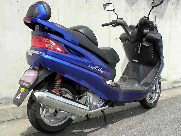【Racing Shop Yokota】RSY Little Bomb 不銹鋼全段排氣管:SYM RV125 EFI 用 - 「Webike-摩托百貨」