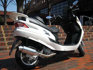 【Racing Shop Yokota】RSY Spider 不銹鋼全段排氣管:SYM RV125 i(LF12W)用 - 「Webike-摩托百貨」