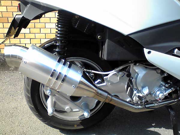 【Racing Shop Yokota】 RSY Spider 全段排氣管:SYM RV125 i(LF12W)用 - 「Webike-摩托百貨」