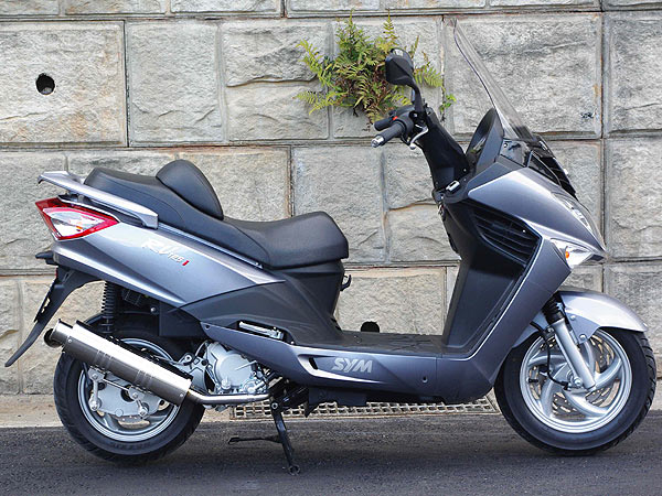 【Racing Shop Yokota】RSY Big Horn 不銹鋼全段排氣管:SYM RV125 i(LF12W)用 - 「Webike-摩托百貨」