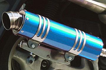 【Racing Shop Yokota】RSY Wild Bomb 全段排氣管:SYM RV125i (LF12W)用 - 「Webike-摩托百貨」