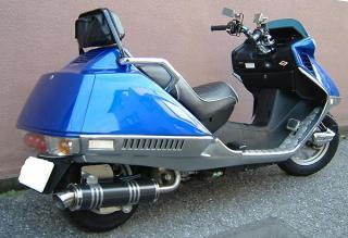 【Racing Shop Yokota】RSY Little Bomb 黑色碳纖維全段排氣管:FUSION (MF02)・Lowdown用 - 「Webike-摩托百貨」