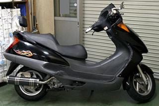 【Racing Shop Yokota】RSY Big Horn 黑色碳纖維全段排氣管:FORESIGHT SE/EX(MF04)用 - 「Webike-摩托百貨」