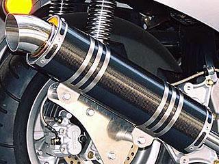 【Racing Shop Yokota】RSY Little Bomb 黑色碳纖維全段排氣管:FORESIGHT SE/EX (MF04)用 - 「Webike-摩托百貨」