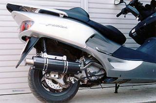 【Racing Shop Yokota】RSY Big Horn 黑色碳纖維全段排氣管:FORZA (MF06)用 - 「Webike-摩托百貨」